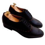 Black Designer Derby  Shoes