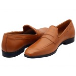 Tan Classic Loafer Shoes