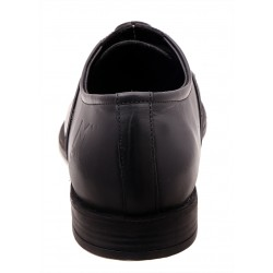 Black Classic Plain Derby Shoes