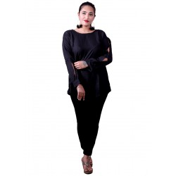Black Cutting Kurti
