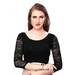 Black Designer Blouse